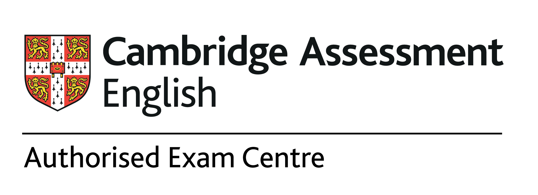 Authorised exam centre logo CMYK